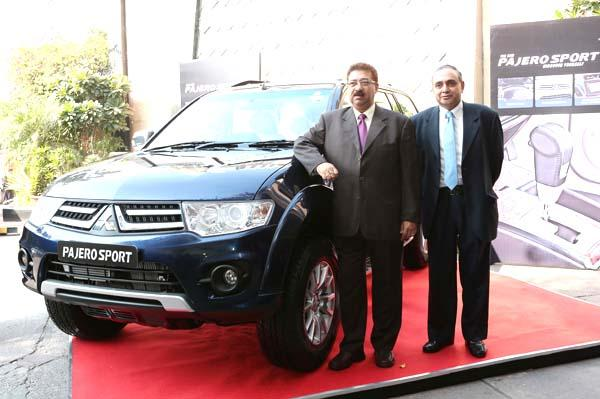 Mitsubishi Pajero Sport Auto Launched At Rs 23.55 Lakh