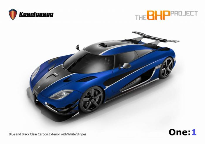 Koenigsegg One:1 In RHD Configuration Is Limited To One Example Only