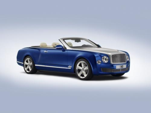 Bentley Grand Convertible Concept Unveiled For LA Auto Show 2014