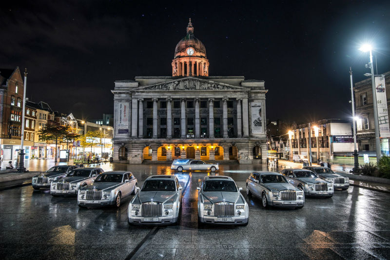 First Rolls-Royce Phantom Hearse Rental Service Launched
