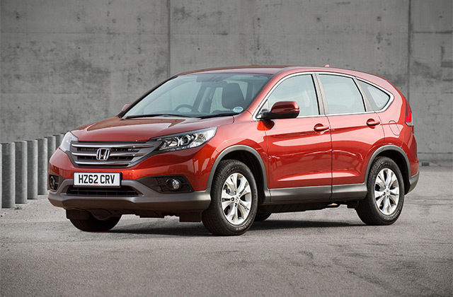 Honda CR-V Facelift And Diesel