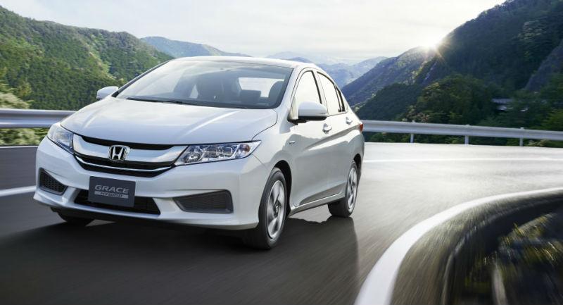 Honda Grace Hybrid Front