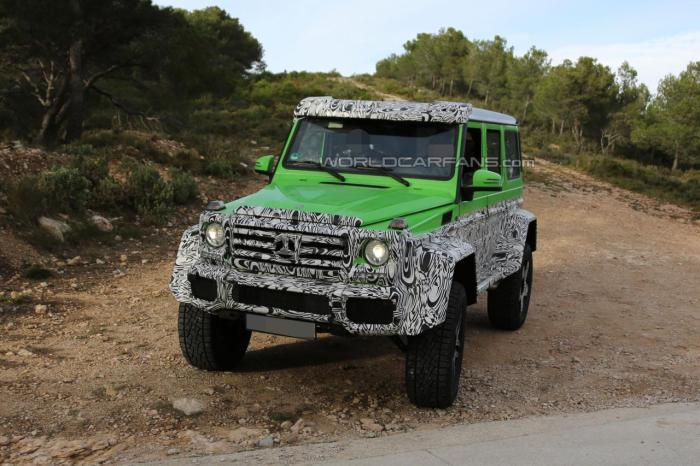 Mercedes-Benz G63 AMG 4x4 Version