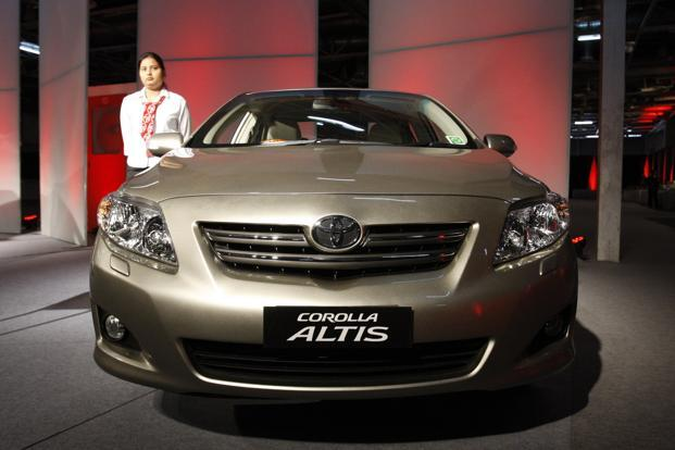 Toyota Corolla Altis Recalled In India