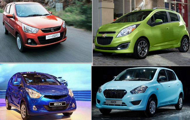 New Maruti Alto K10 vs Datsun GO vs Hyundai Eon vs Chevrolet Spark: Specifications Comparison