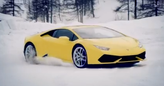 Lamborghini Winter Academy 2015 Teased