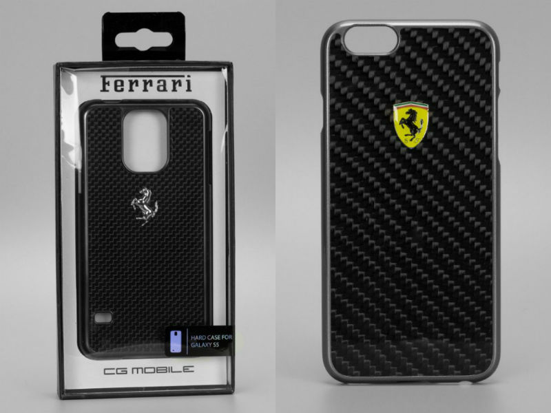 Ferrari Limited Edition Case For iPhone 6 And Samsung S5