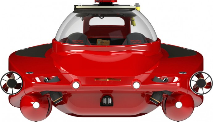 HP Sport Sub 2 Unveiled Is A Underwater Sportscar