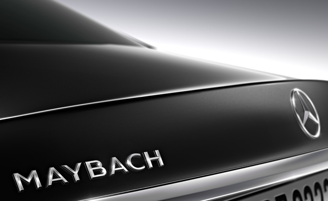Mercedes-Maybach S600 Confirmed For 2014 LA Auto Show