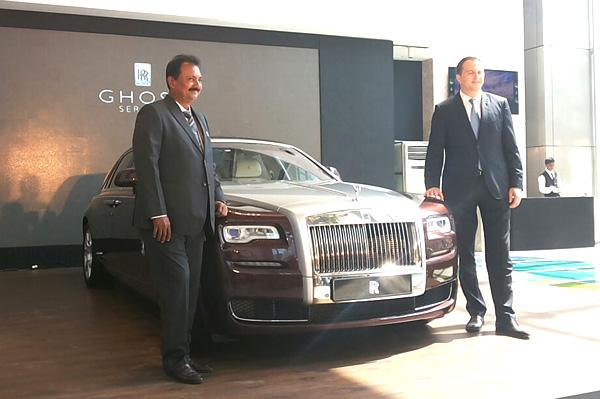 Rolls-Royce Ghost Series II Launched In India