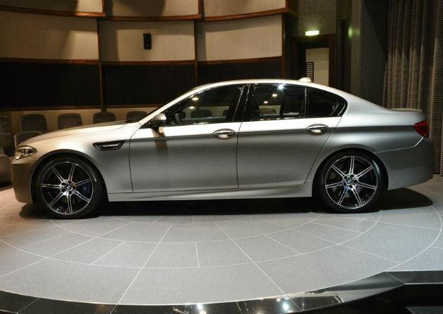 BMW M5 30 Jahre M5 Unveiled In Abu Dhabi