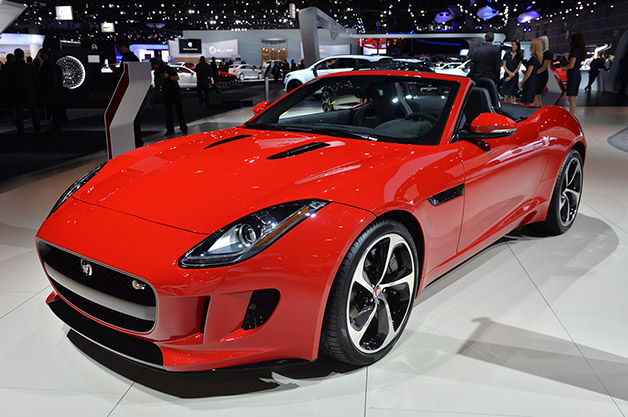 Jaguar F-Type AWD Revealed At 2014 LA Auto Show