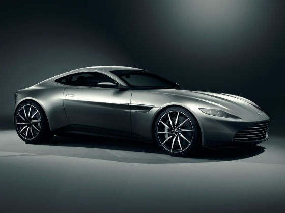 Aston Martin DB10 Unveiled As An Exclusive Car Made For James Bond