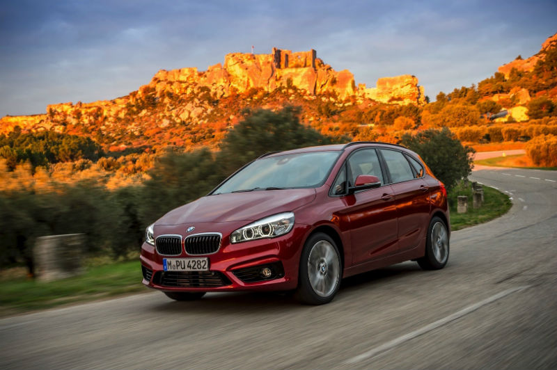 BMW 2-Series Active Tourer xDrive System Explained