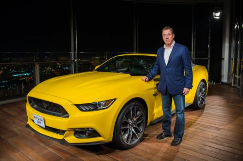 Ford Assembles Mustang GT Convertible On The Top Of World's Tallest Building