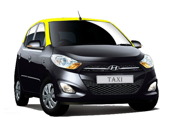 Hyundai i10 Soon To Become Taxi - The Santro Replacement