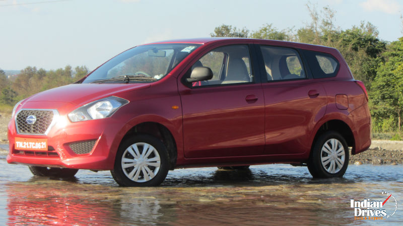 Datsun GO Plus MPV Test Drive And Review In India