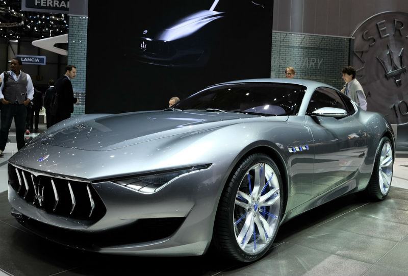 Maserati Partners With Airbus
