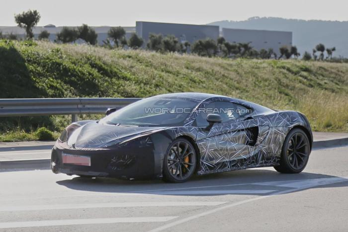 McLaren Entry-Level Sports Car Spied For First Time