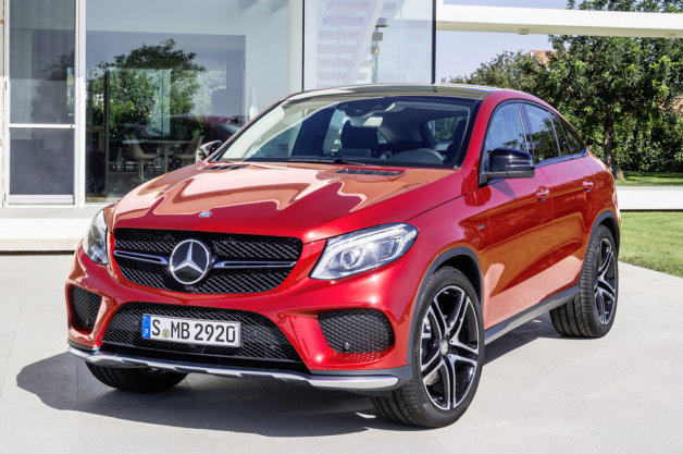 Mercedes-Benz GLE Coupe And AMG Revealed
