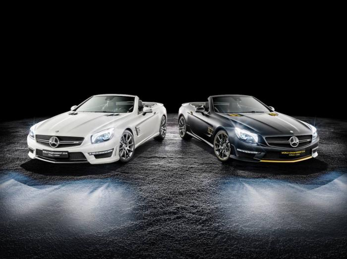 Mercedes-Benz SL 63 AMG World Championship 2014 Collectors Edition Unveiled