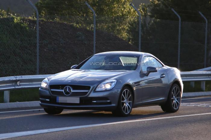 Mercedes-Benz SLC Spied Testing For First Time