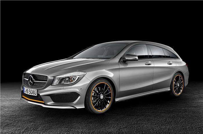 Mercedes CLA And CLA 45 AMG Shooting Brakes Unveiled