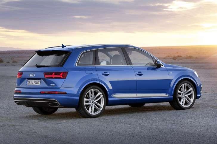 New Audi Q7 Unveiled