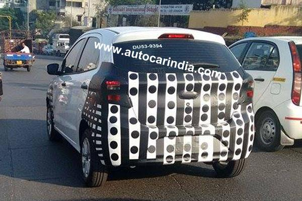 New Ford Figo Hatchback Spotted Testing In India