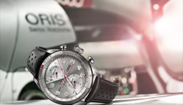 Oris New Audi Sport Chronograph Limited Edition Unveiled