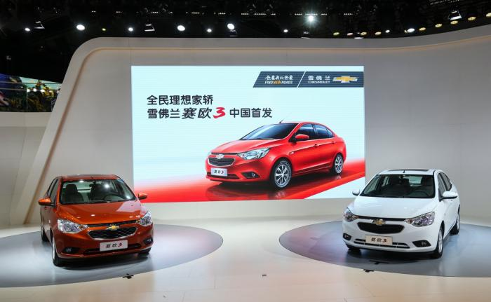 Chevrolet Sail 3 Unveiled At Guangzhou Motor Show
