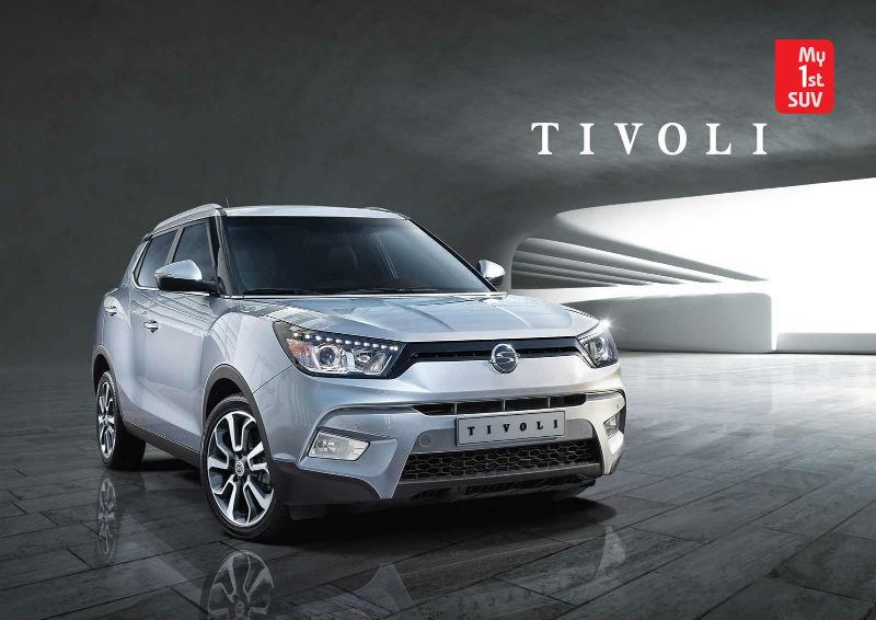 SsangYong Compact SUV Tivoli Unveiled
