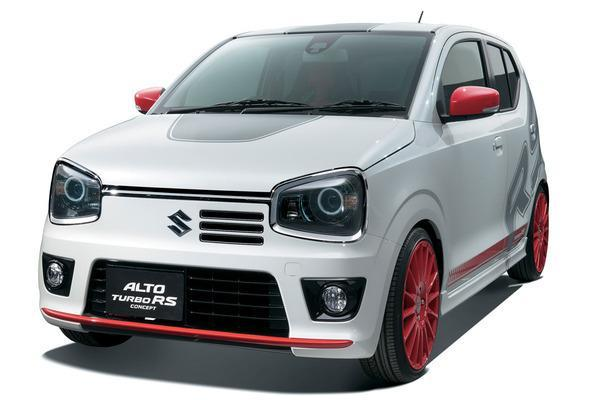 Suzuki Alto RS Turbo Revealed