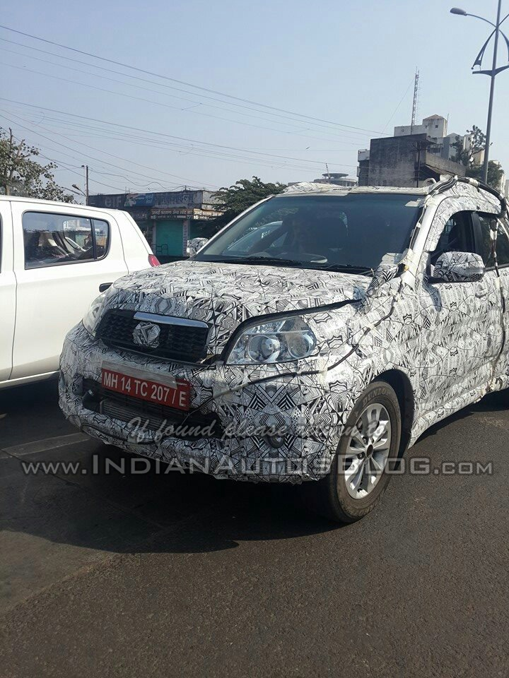 Toyota Compact SUV Rush Spied Testing In India