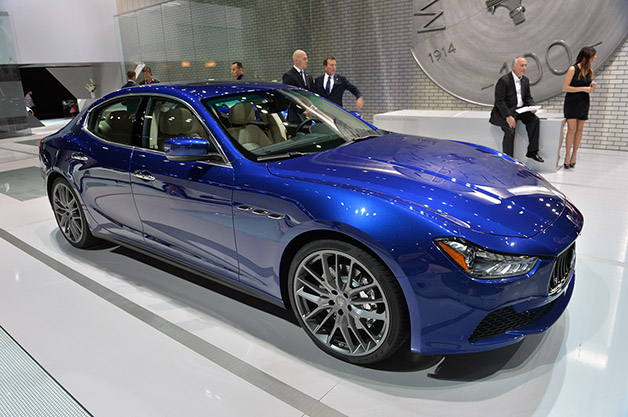 Maserati Ghibli Receives Updates For 2015 At LA Auto Show