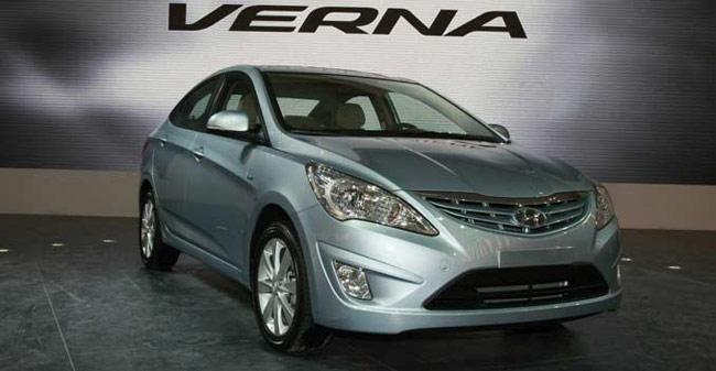 2015 Hyundai Verna facelift