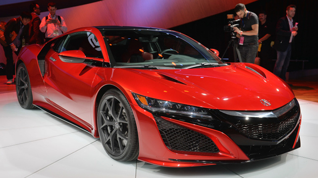 2016 Honda Acura NSX Production Version Unveiled