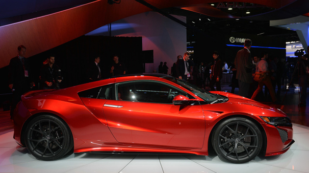 2016 Honda Acura NSX Production Version Unveiled At Detroit