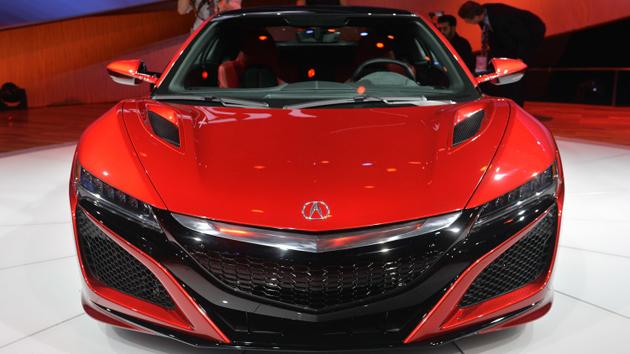 2016 Honda Acura NSX Production Version Unveiled At Detroit