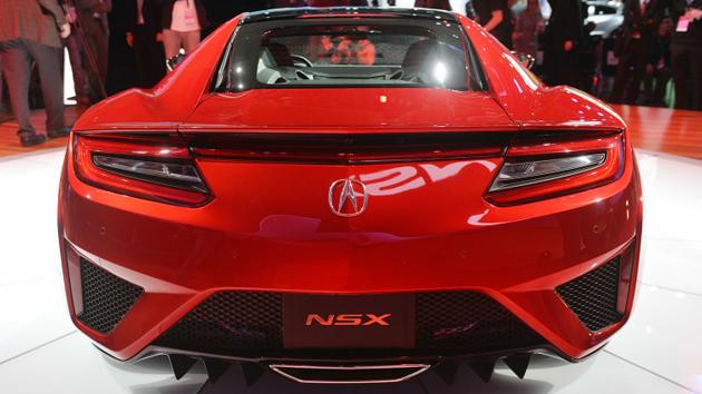 2016 Honda Acura NSX Production Version