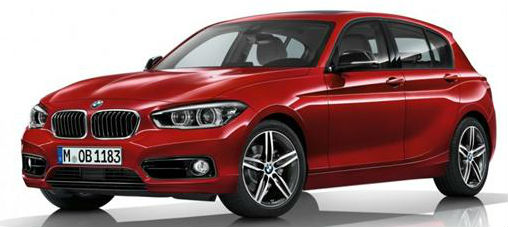 BMW 1-Series Facelift Revealed
