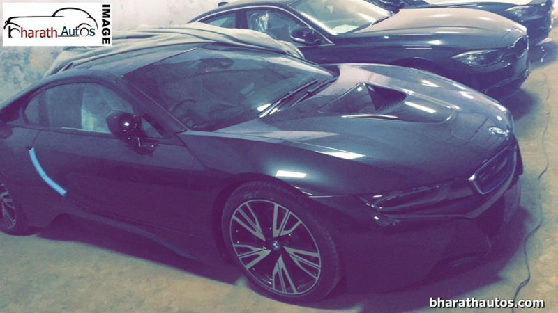 BMW i8 Spied At BMW Dealership In India Launch Soon