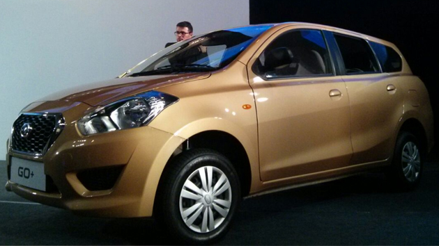 Datsun GO Plus Launched At Rs 3.79 Lakhs Ex-Showroom Delhi