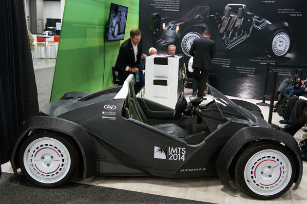Local Motors Strati - World's First 3D-Printed Car Unveiled