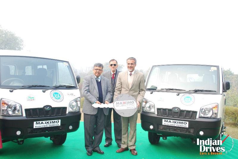 Mahindra Launches Maxximo Electric Pilot Project At Taj Zero Emission Corridor In Agra