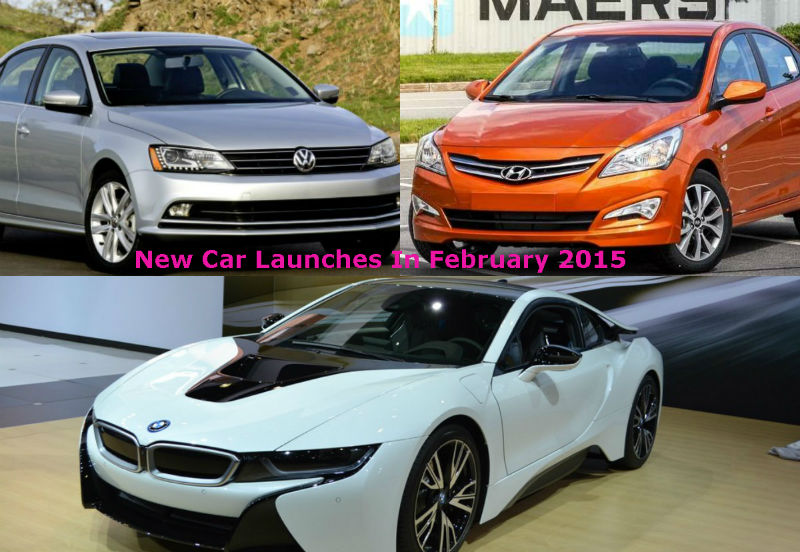 New Car Launches In February 2015