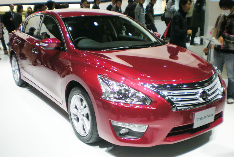 Nissan Teana Discontinued In India