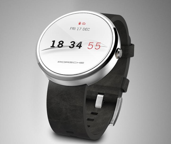 Porsche Unveils Android Smartwatch