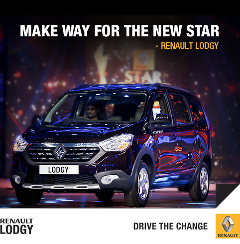 Renault Lodgy Stepway Unveiled In Mumbai India
