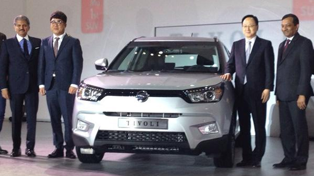 SsangYong Compact SUV Tivoli Showcased In Korea